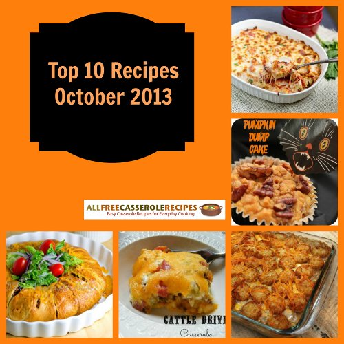 Top 10 recipes of october 2013 for October recipes